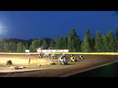 Paul Richards Hamlin Speedway 600s 7/28/18