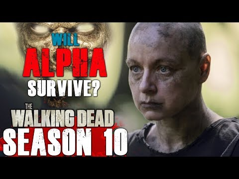 The Walking Dead Season 10 Mid-Season Finale Predictions - Will Alpha Survive?