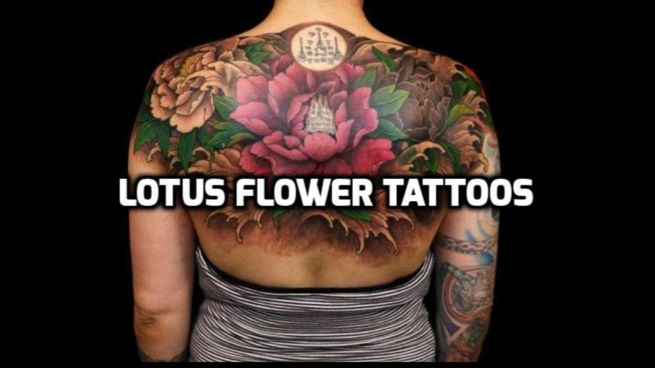 Lotus Flower Tattoo Designs Best Lotus Flower Tattoos Youtube