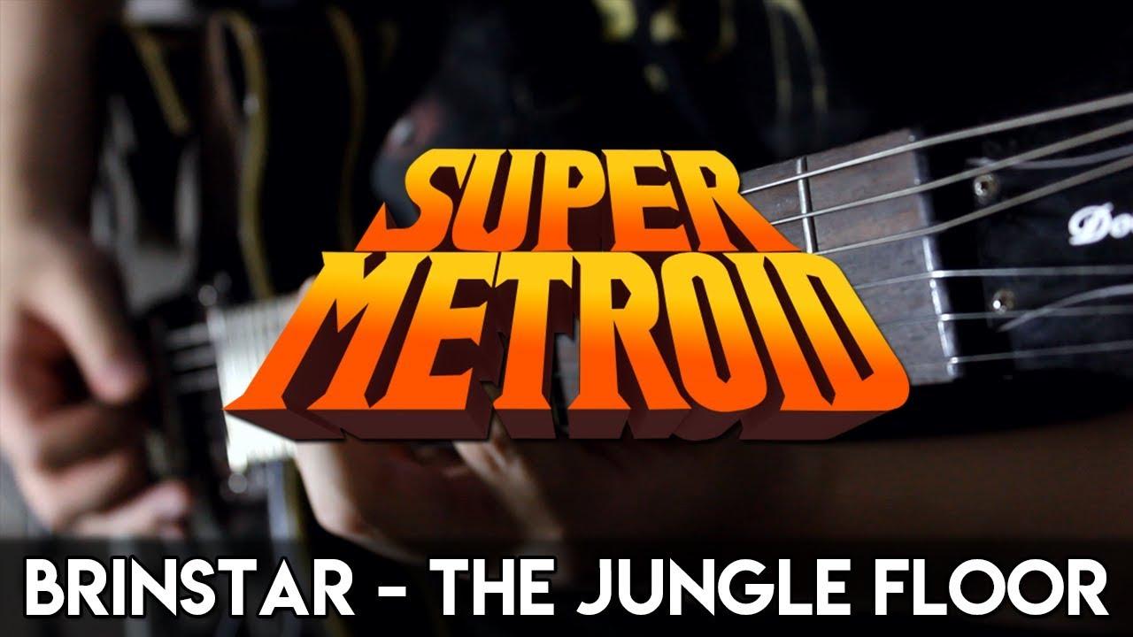 Brinstar   The Jungle Floor (Super Metroid) Guitar Cover