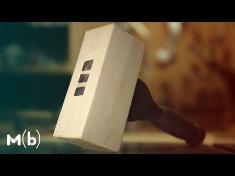 How to Make a Wooden Mallet // THOR Hammer!