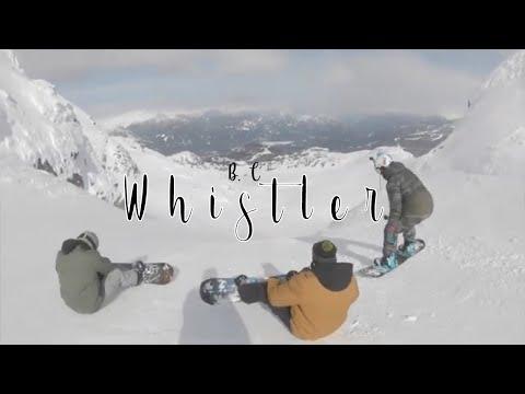 Whistler Blackcomb Spring Break Snowboarding. 2020