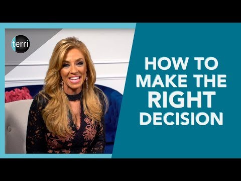 How To Make The Right Decision