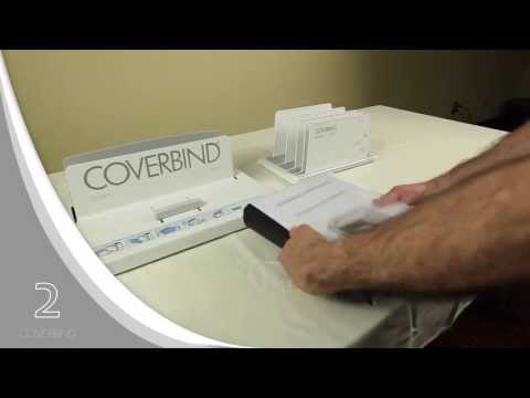 Coverbind 5000 How-To; Bind wider spine width documents