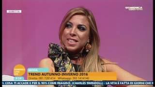 Domenica Luna Live  23/10/16 Annalaura Gaudino Rubrica moda