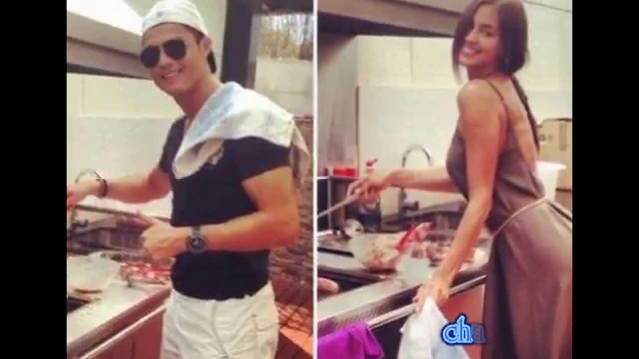 كريستيانو رونالدو يروي أجمل اللحضات التي عاشها مع ايرينا شايك Cristiano  Ronaldo7 con IRINA SHAYK - YouTube