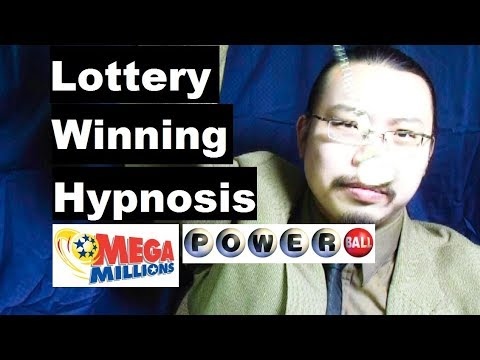 Hypnosis for lottery jackpot winning with pocket watch induction visualize numbers, manifesting
