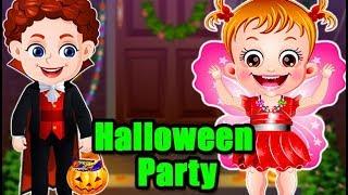 Baby Hazel Halloween Party | Fun Game Videos By Baby Hazel Games