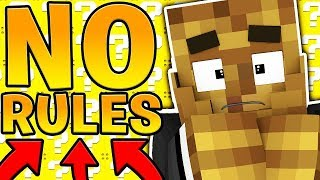 NO RULES DELTA LUCKY BLOCK SKYWARS! - MINECRAFT MODDED MINIGAME