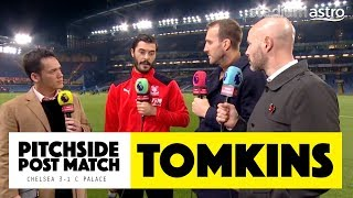 PITCHSIDE: Tomkins post match reaction   Chelsea 3-1 Crystal Palace   Astro SuperSport