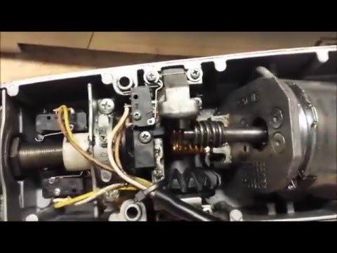 Liftmaster La400 Gate Motor Repair Youtube