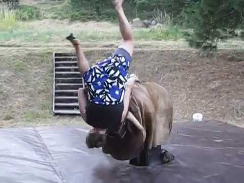 how to make a mechanical bull ride