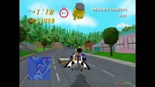 The Simpsons: Road Rage - Gameplay Xbox HD 720P