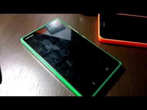 Nokia X2 Glance Screen