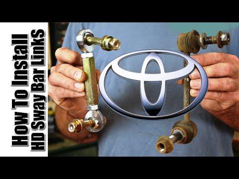 How To Install HD Sway Bar Links, 4Runner, FJ Cruiser, Tacoma