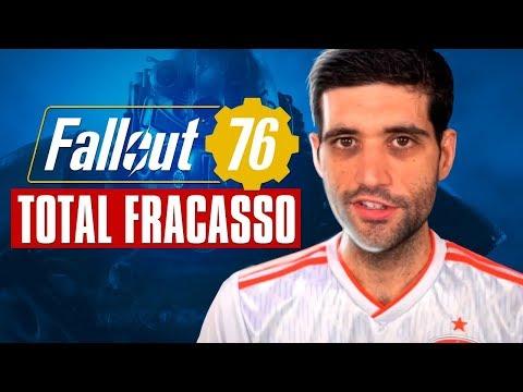 Fallout 76 é um COMPLETO DESASTRE