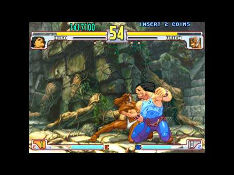Street Fighter III Third Strike - Hugo max difficulty playthrough - No losses