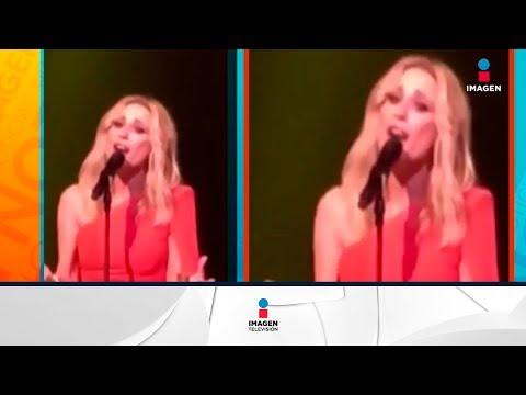 Martha Sánchez le pone letra al himno español | Noticias con Francisco Zea