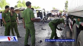 Truyền hình VOA 3/1/19: Việt Nam: Báo động tử vong vì giao thông