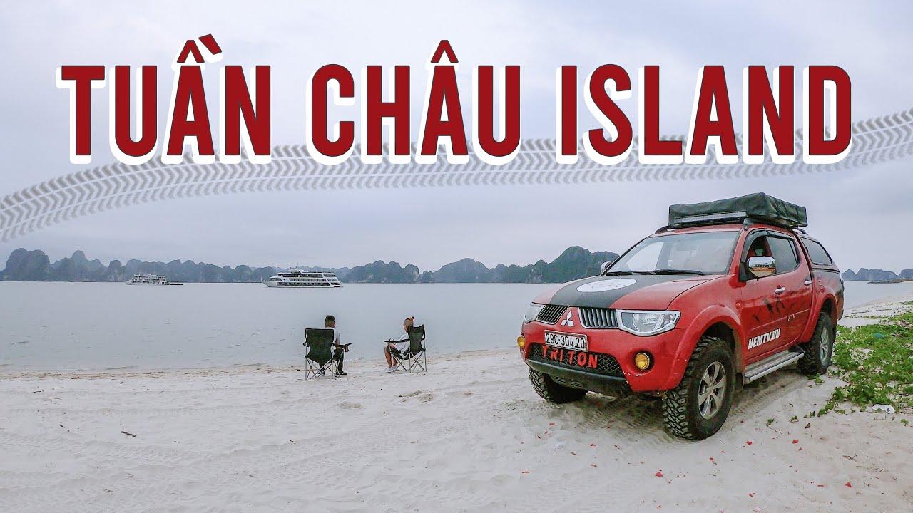 Đảo Tuần Châu có một bãi biển rất đẹp nhưng ít người lui tới