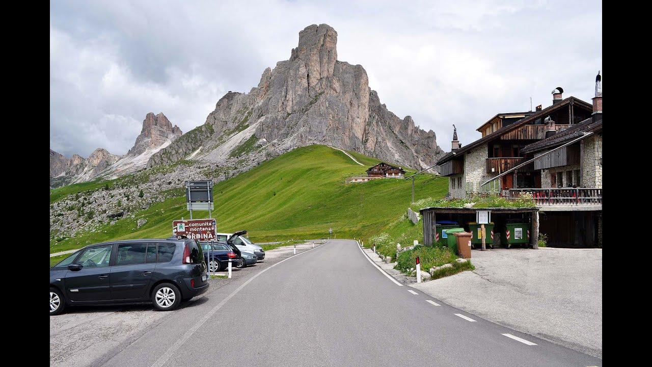 Passo Giau Tour Gardasee Dolomiten S 252 Dtirol 2014