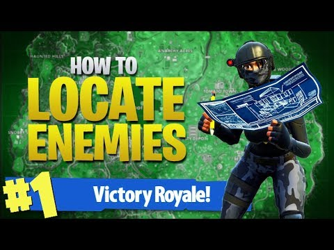 HOW TO WIN | How To Find Enemy Players! (Fortnite Battle Royale)