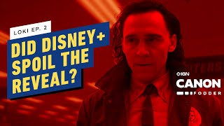 Loki Ep. 2: Do The Disney+ Credits Spoil the Variant Reveal?   MCU Canon Fodder
