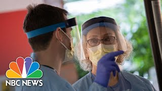 Around The World, Citizens Applaud Healthcare Workers As They Change Shifts | NBC Nightly News