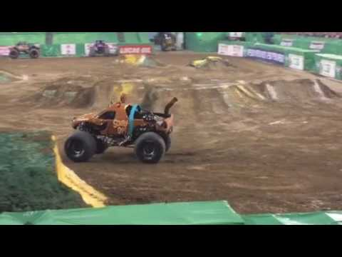 Monster jam Indianapolis 2017