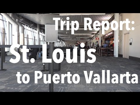 TRIP REPORT - Southwest AND Frontier Airlines, St. Louis to Puerto Vallarta