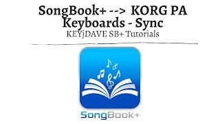 SongBook+ iOSApp Tutorials - KORG Pa Serie (Keyboards) verbinden & Songs Synchronisieren