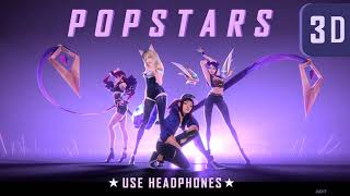 K/DA - (3D audio) POP/STARS | ft Madison Beer, (G)I-DLE, Jaira Burns (League of Legends)