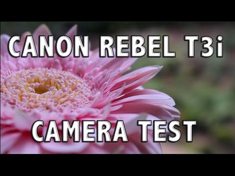 VIDEO TEST   Canon Rebel T3i