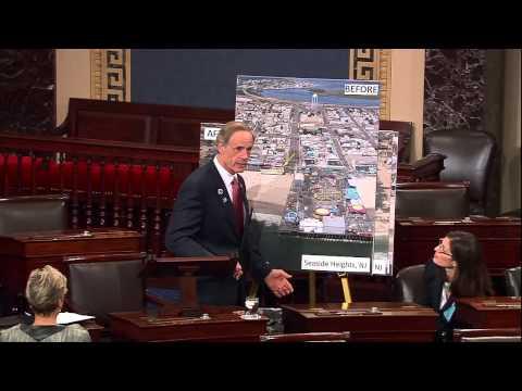 Senator Carper Marks the One Year Anniversary of Superstorm Sandy