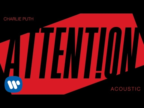 Charlie Puth  Attention Acoustic  Audio