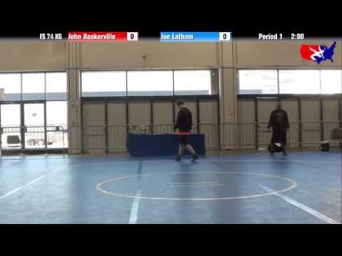 John Baskerville vs. Joe Latham at 2013 Las Vegas/ASICS U.S. Open