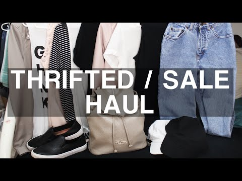 Thrifted/Sales/Clearance Section Haul (Sale Section Steals) | ShayBrit