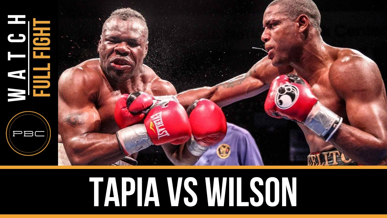 Tapia vs Wilson FULL FIGHT: December 8, 2015 - PBC on FS1