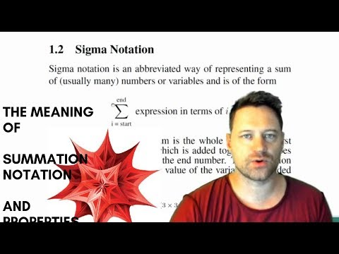 Mathematica Tutorial 39 - Summation Notation Sums And Sigma