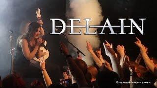 DELAIN  - APRIL RAIN - Live 2015 in Maastricht @ Muziekgieterij 27.3.2015