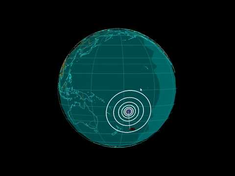 EQ3D ALERT: 10/8/17 - 6.2 magnitude earthquake in the South Pacific Ocean