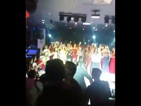 Temblor en Chiapas  8.4 en el concurso Miss Earth Mexico 2017