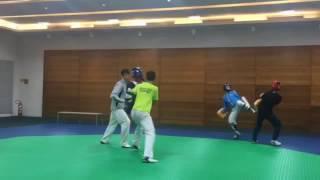 跆拳道訓練影片曝光-劉威廷