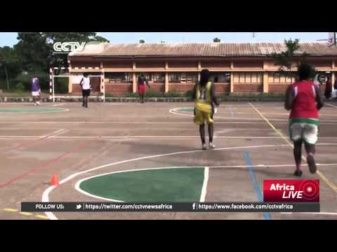 Basketball promotes peace in Central African Republic