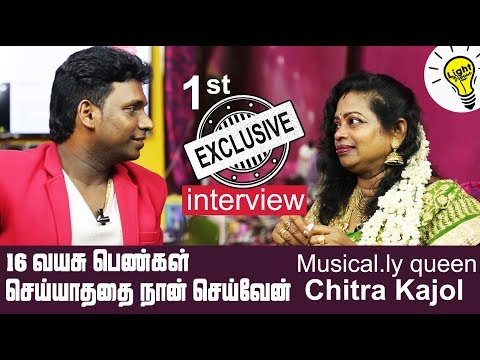 Musically queen Chitra Kajol first exclusive interview | crazy with Nanjil | light house