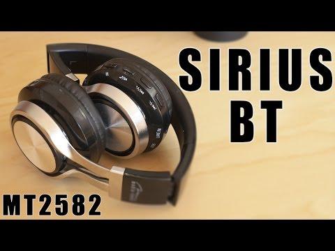 MT3582 MediaTech Sirius BT  - bezprzewodowe słuchawki All in One w dobrej cenie - VBTpc