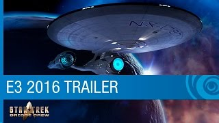 Star Trek: Bridge Crew Trailer - VR Game Reveal with Star Trek Alums - E3 2016 [US]