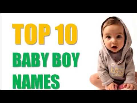 Top 10 Baby Boy Names