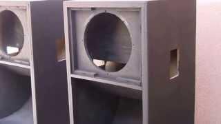 Grundorf Subwoofer Speaker Refurb using Duratex