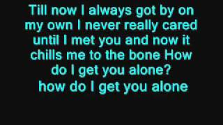 Alone again-Lyrics- Alyssa Reid